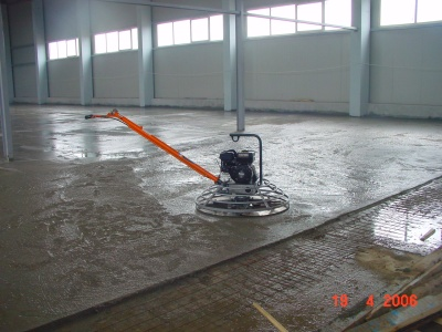 Finisare beton prin elicopterizare