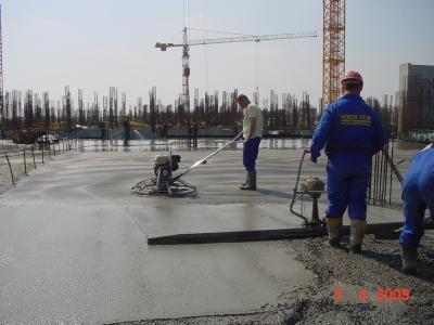 elicopterizarea betonului la petrom city